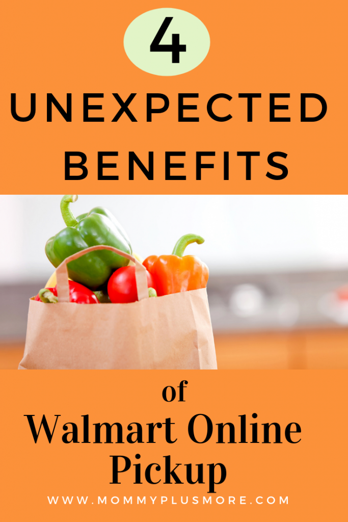 I'm not gonna to lie...I usually try to avoid shopping at Walmart. But online grocery shopping at Walmart? Turns out it was good enough to convert my large family grocery shopping trips into a Walmart drive-by. Click to discover 4 of my favorite (and unexpected!) benefits of shopping at Walmart online grocery.